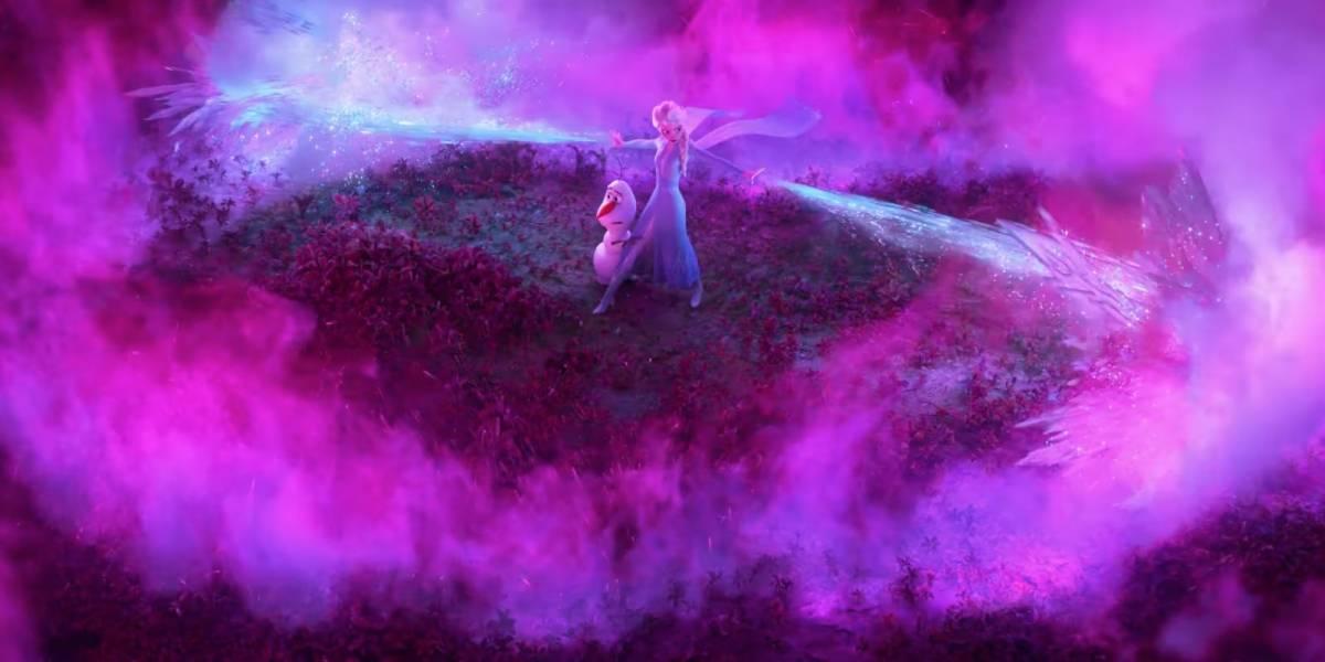 Frozen 2 Elsa Explora Seus Poderes Em Primeiro Teaser Da