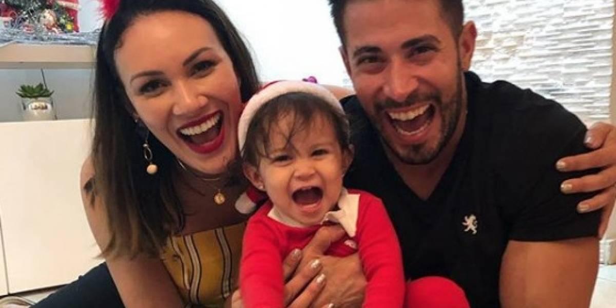 Tommy Ramos le hace pasar tremendo susto a Vilmarie Mojica y a su bebé