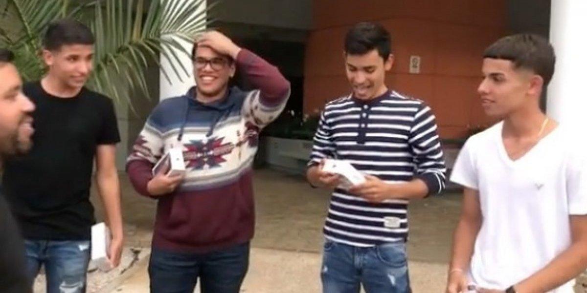 Sorprenden a jóvenes de Villalba que realizan gran gesto