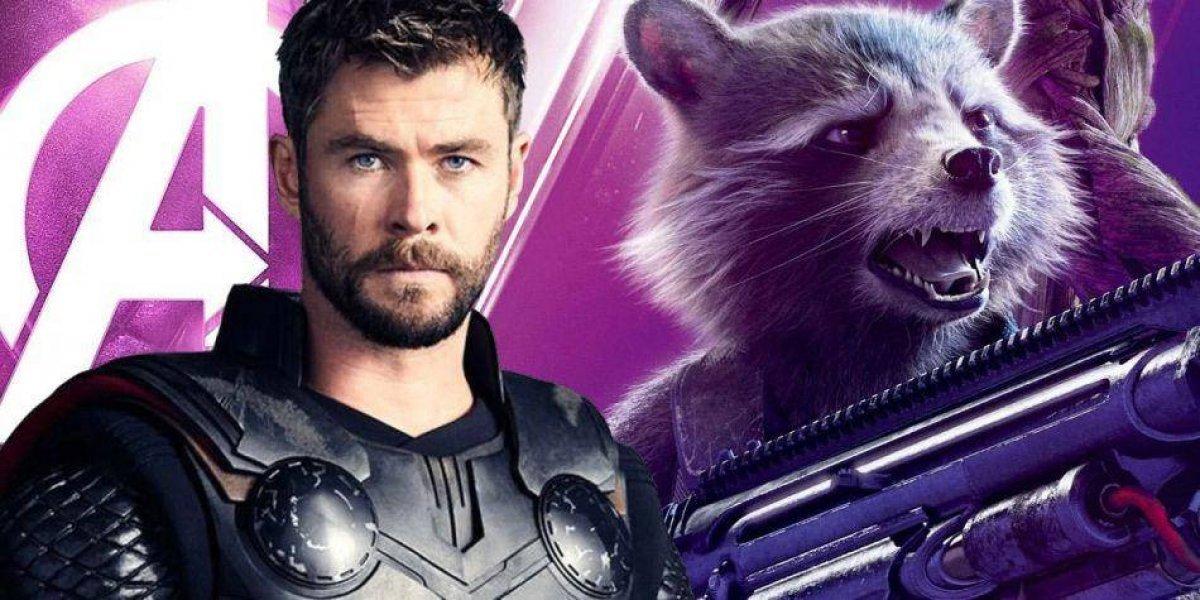 Se revela el destino que escogieron Thor y Rocket