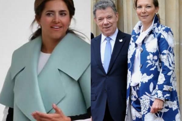 b5a2a11eee Comparan a esposa de Iván Duque con Tutina de Santos por su vestido ...