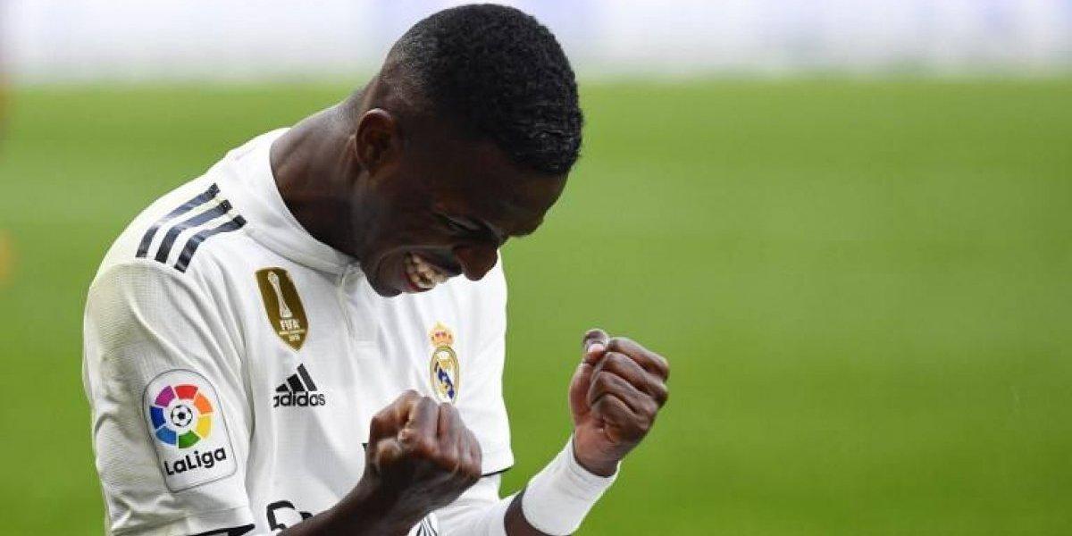 Vinicius cumplirá un pacto con su padre si anota hoy con el Real Madrid