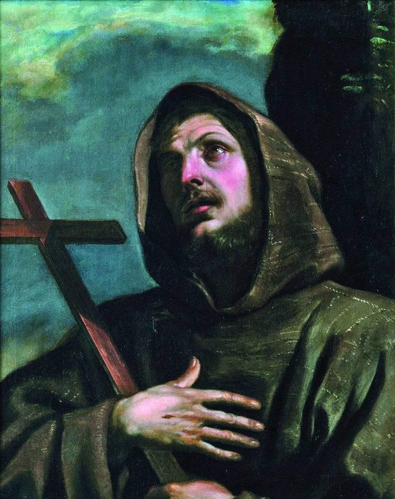Tela barroca de Guercino