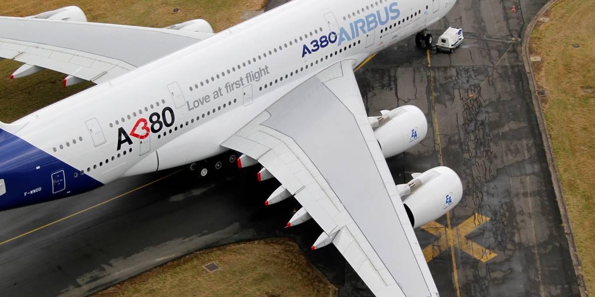 Airbus anuncia fim da produção do maior avião de passageiros: Superjumbo A380