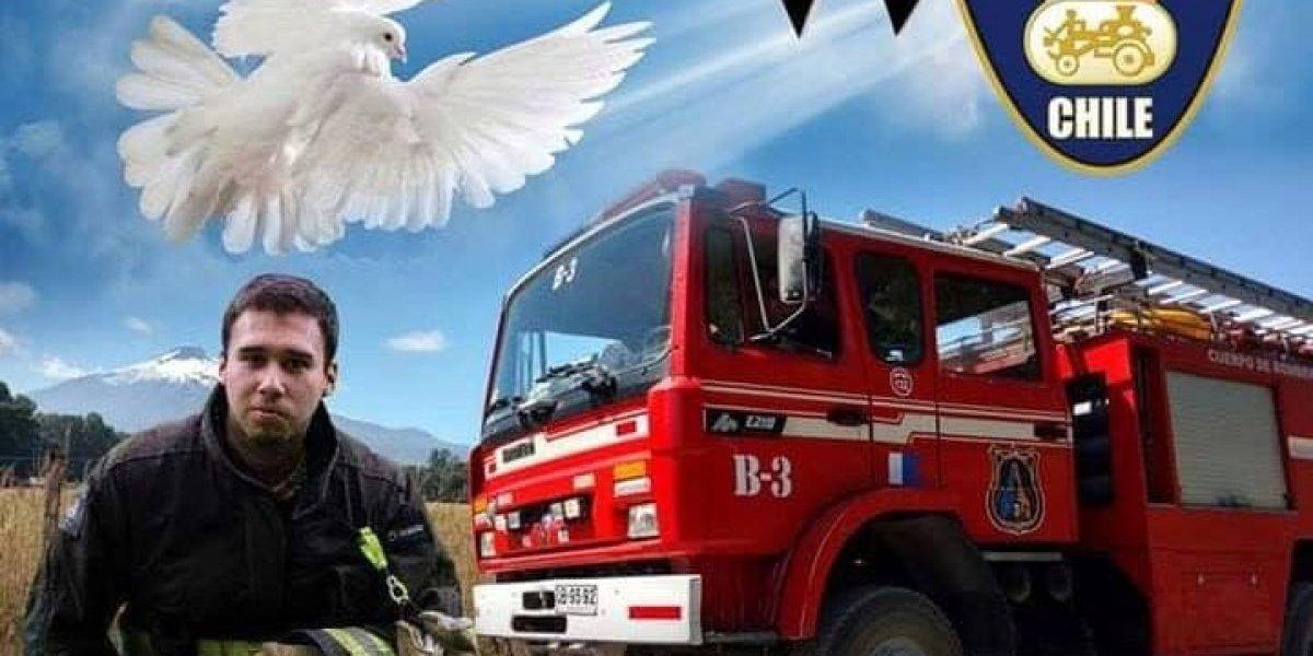 La hermosa forma en que el bombero fallecido sigue salvando vidas: donó sus órganos y un pequeño de Talcahuano ya fue trasplantado