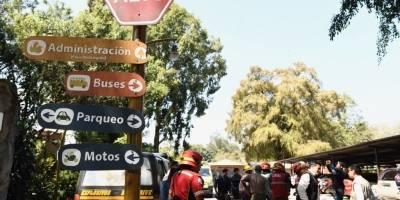 alerta de bomba en zoológico La Aurora