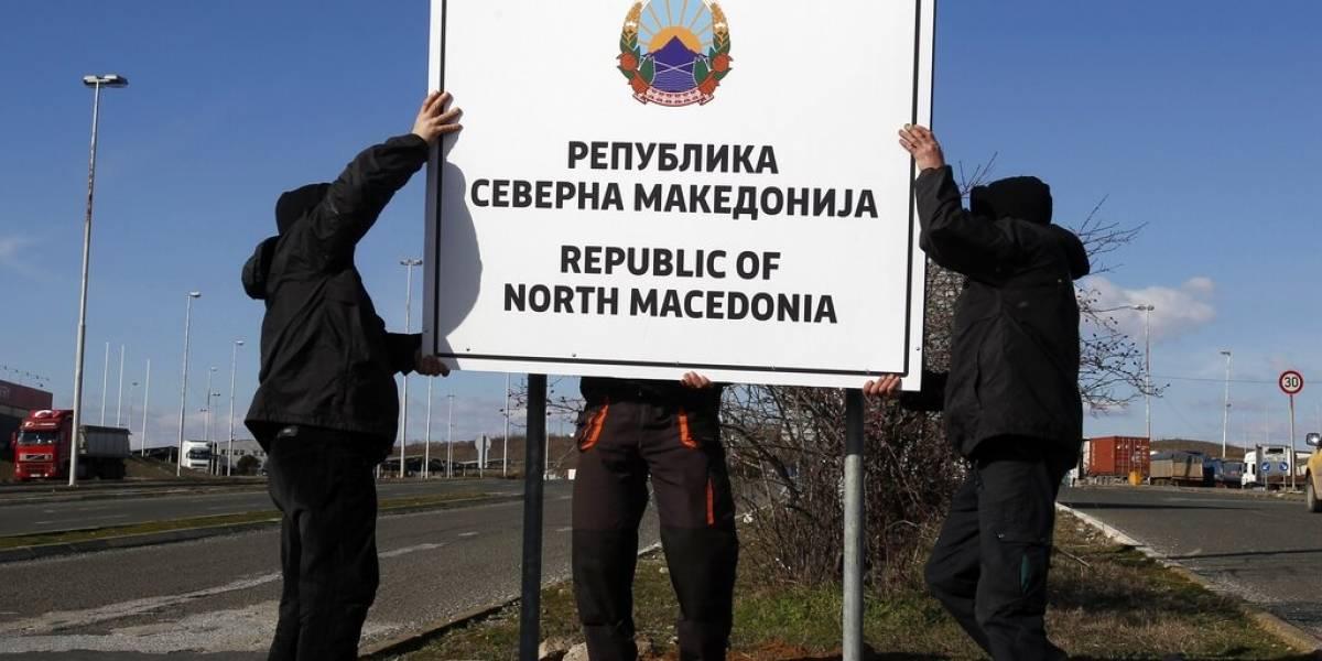 Macedonia del Norte reemplazará pasaportes, moneda y señalizaciones