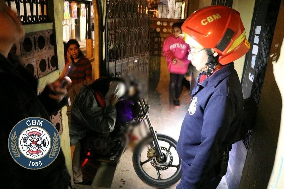 Conductor de motocicleta es asesinado a balazos en la zona 7