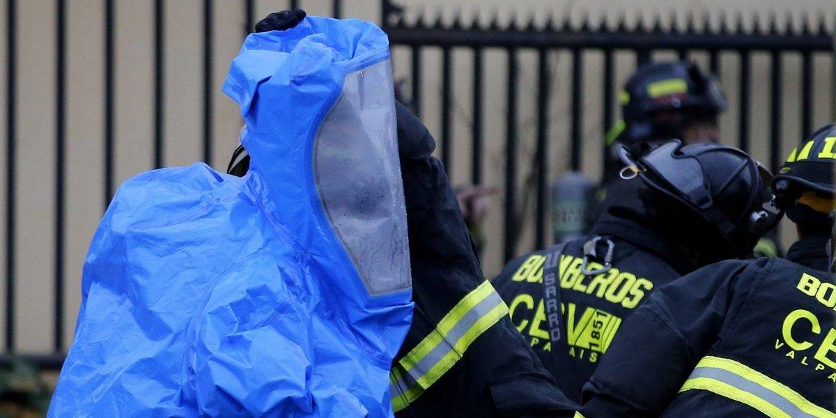 Emergencia química provoca evacuación masiva en Graneros
