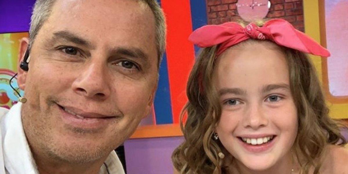 José Miguel Viñuela se quebró tras recordar al fallecido padre de la pequeña Giulia Inostroza