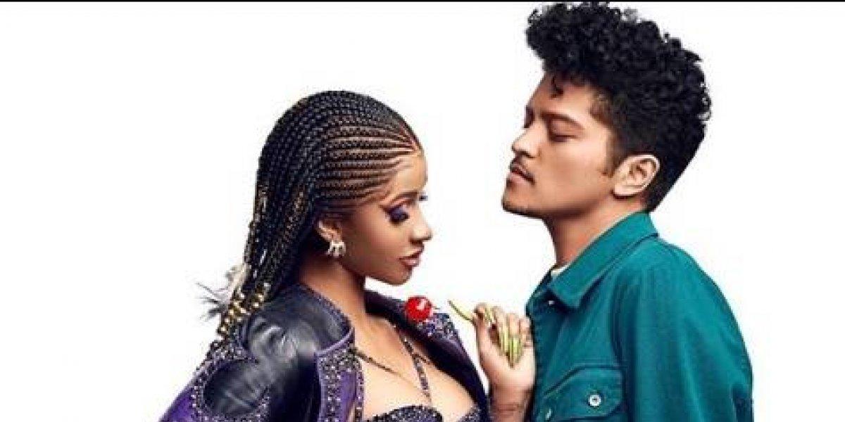 Cardi B estrena hoy nueva colaboración con Bruno Mars