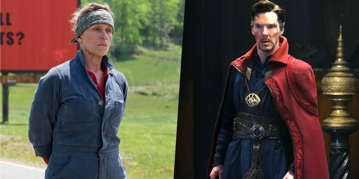 Frances McDormand e Benedict Cumberbatch serão Deus e Diabo em série inspirada em livro de Neil Gaiman