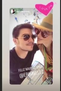 Érika Vélez y Carlos Scavone