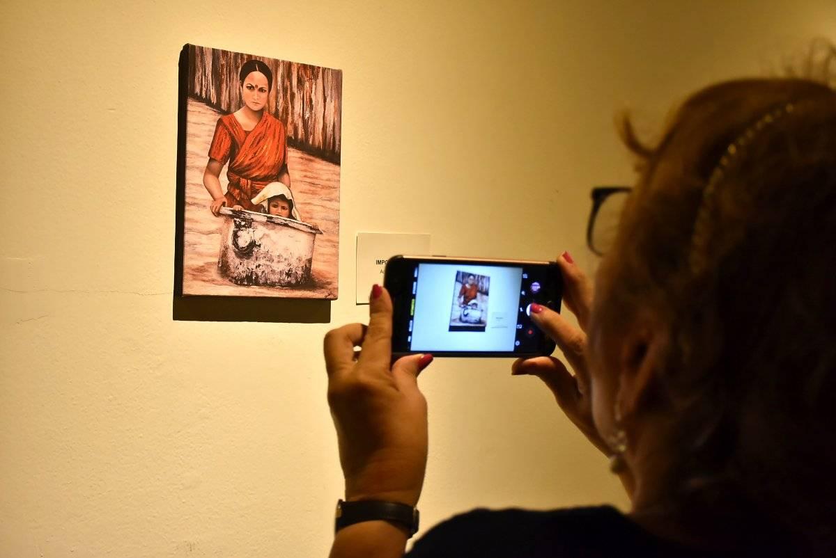 Exposición de la artista mexicana Isabel Zaman. Jairo Cassiani