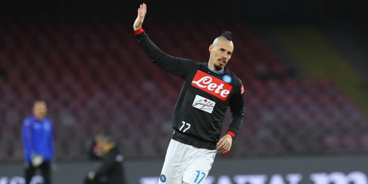 Marek Hamsik parte al fútbol chino y deja el Napoli con registros que superan a Diego Armando Maradona