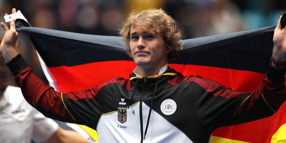 Alivio para Chile: El alemán Zverev prometió que no jugará la nueva y polémica Copa Davis
