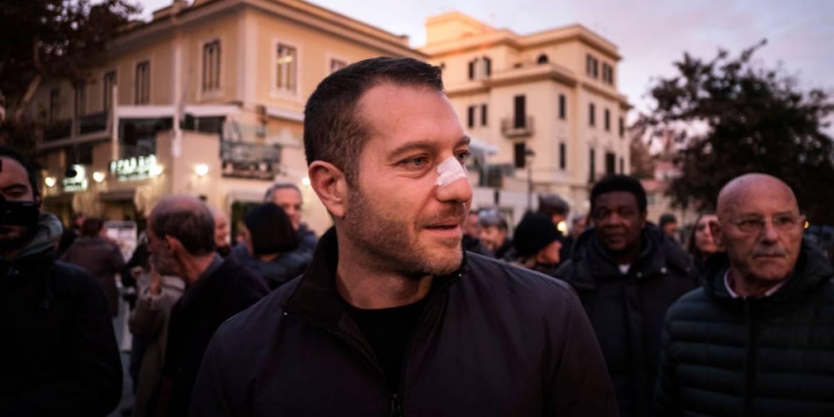 Jornalista é agredido pela segunda vez por integrantes da mafia italiana