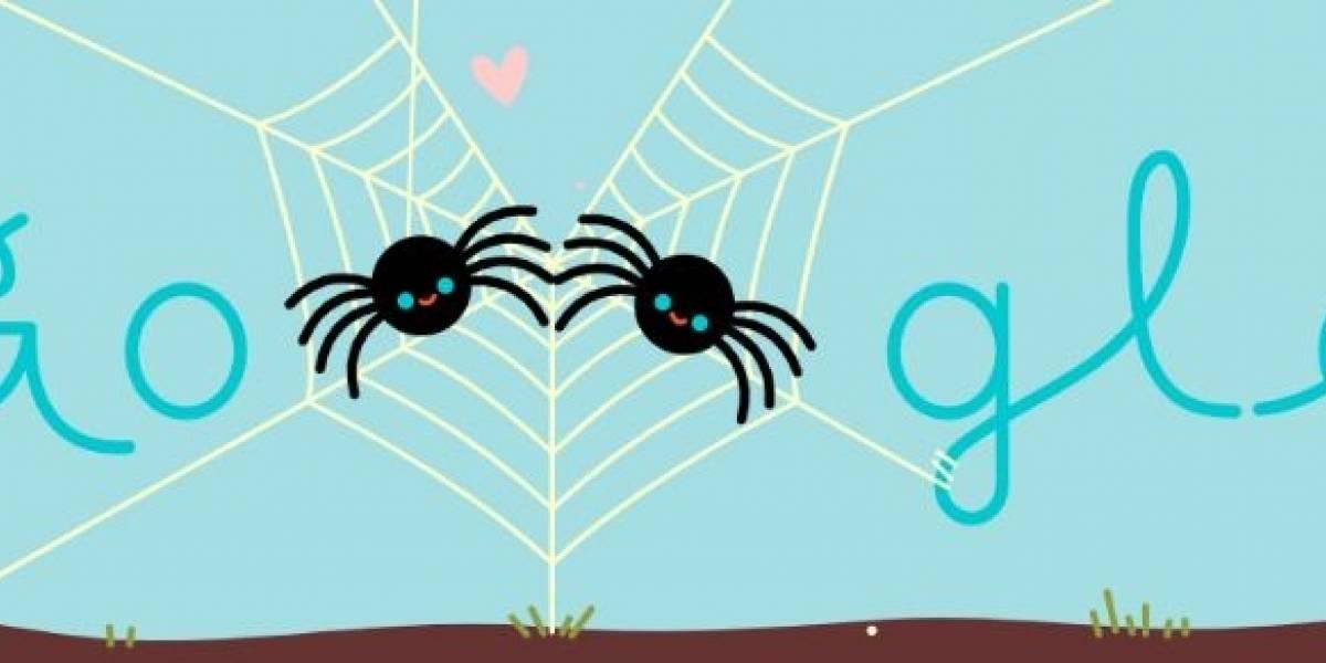 El curioso doodle con el que Google homenajeó al amor - Revista