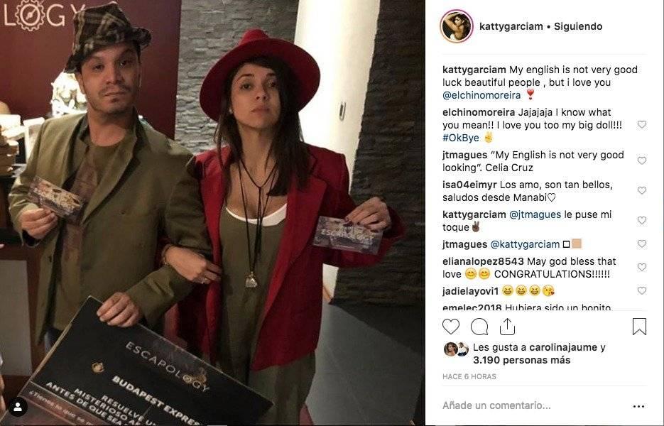 Katty García y el Chino Moreira Captura de pantalla