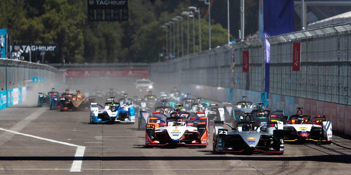 Emociones de la Fórmula E se tomaron Santiago de Chile