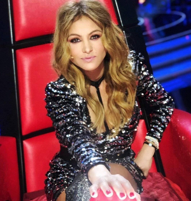 """La cantante es una de las """"coach"""" en La Voz España Instagram: @paulinarubio"""