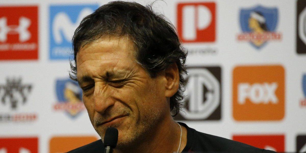 Mario Salas descartó a Paredes y puso en duda la presencia de Valdivia en el debut de Colo Colo en el torneo