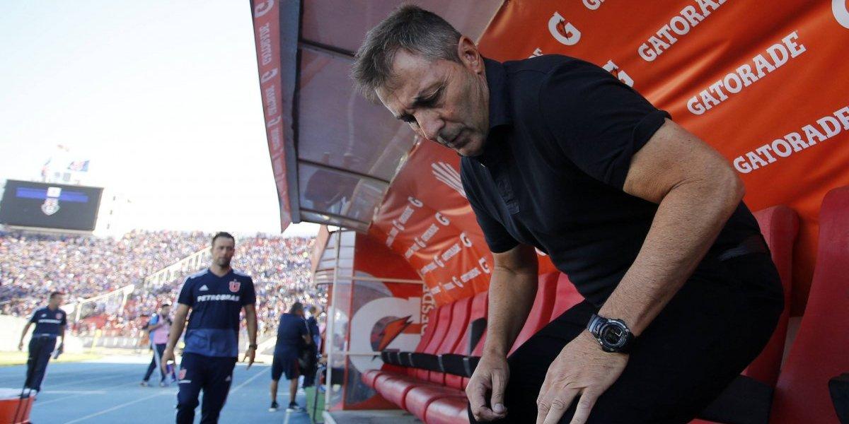 """Sabino Aguad confirma que """"respetarán"""" el contrato de Kudelka y que van por un volante creativo para la U"""