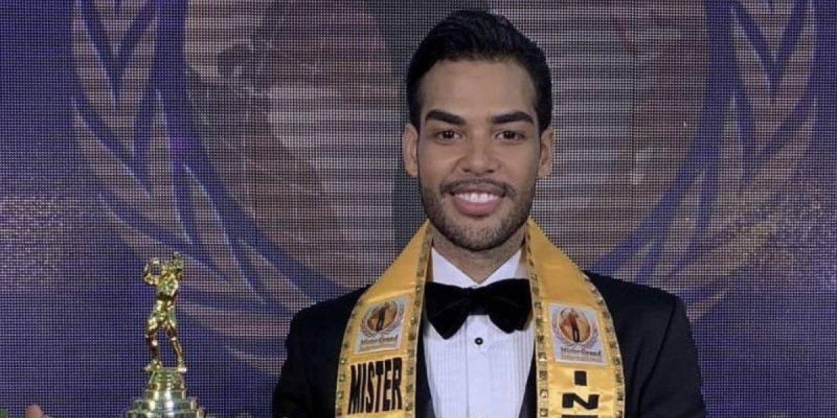 "Rodney Tapia, primer latino en ganar título de ""Mister Grand Internacional"""