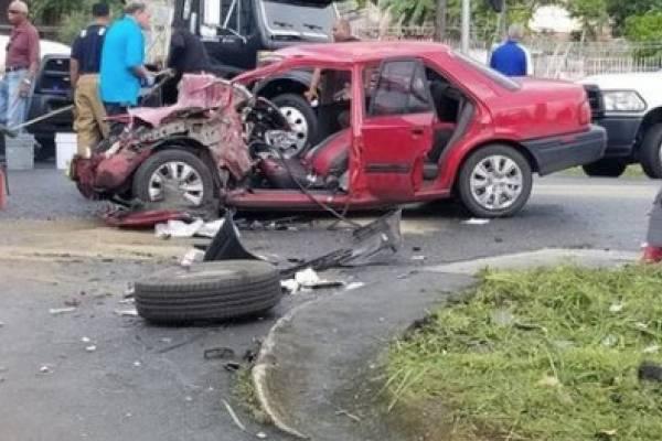 accidente en Río Grande