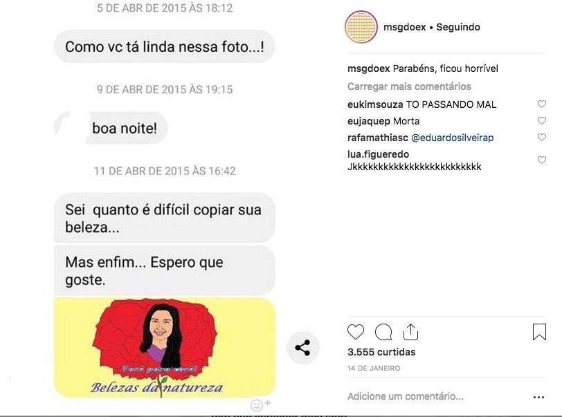 Instagram Msgs do Ex