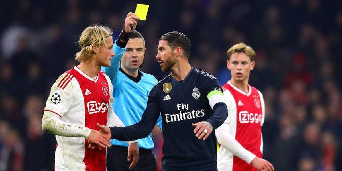 Sergio Ramos confiesa que se hizo amonestar a propósito en juego ante Ajax