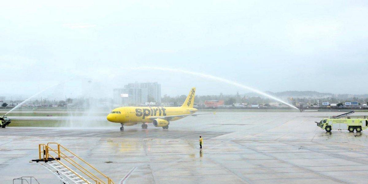 Spirit inaugura rutas de San Juan a Baltimore y a Tampa