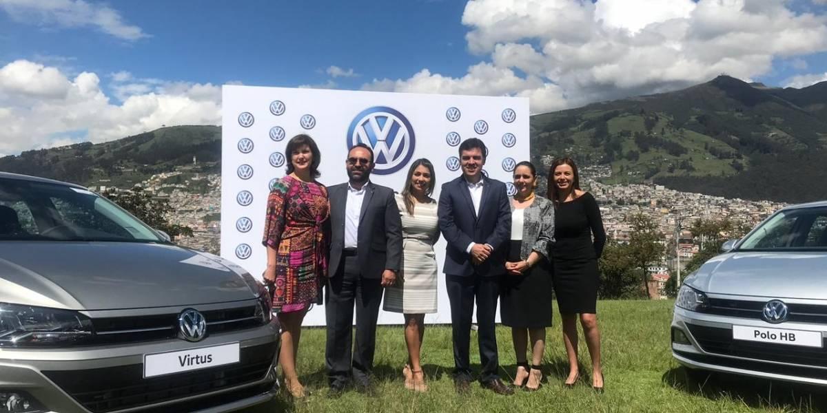 Polo HB y Virtus son los nuevos autos presentados por Volkswagen a Ecuador