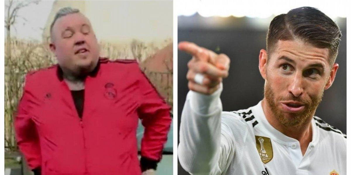 VIDEO. Se tatúa a Sergio Ramos, pero… ¡sorpresa, se parece a Messi!