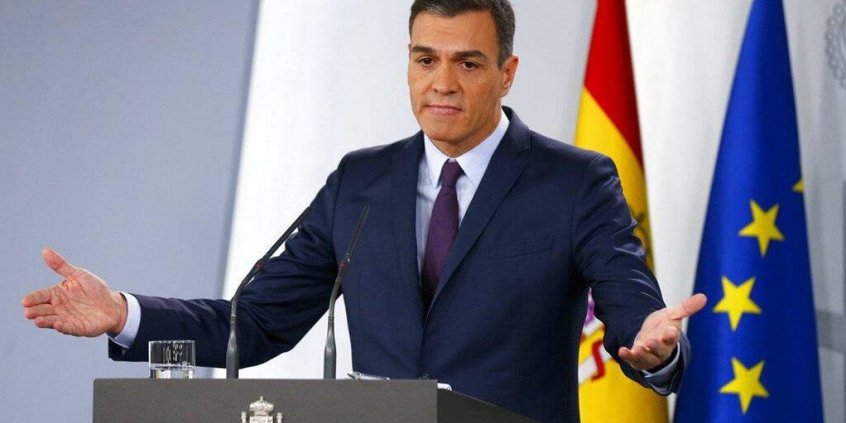 Convocan elecciones en España para abril