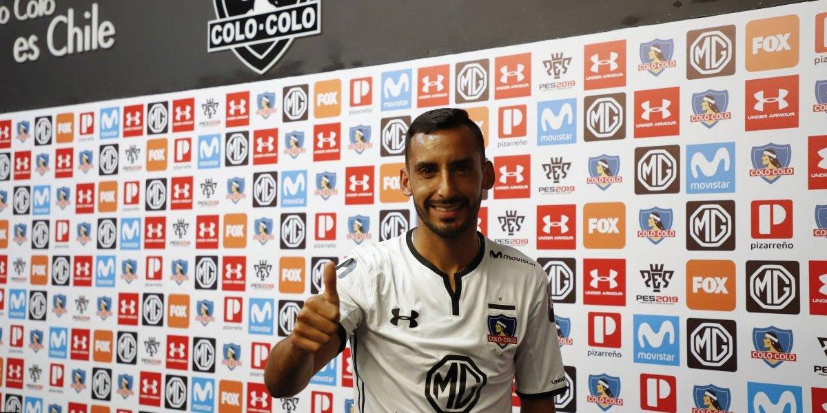 """De la Fuente la tiene clara: """"Estamos en Colo Colo y hay que salir a ganar todos los partidos"""""""