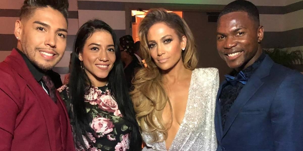 """""""Jennifer López es como una madre para sus bailarines"""": caleño que bailó en los Grammy 2019"""