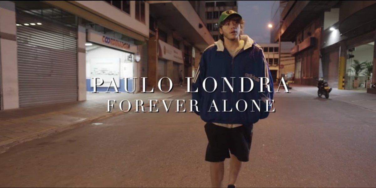 Por motivo de San Valentín Paulo Londra estrenó 'Forever Alone'