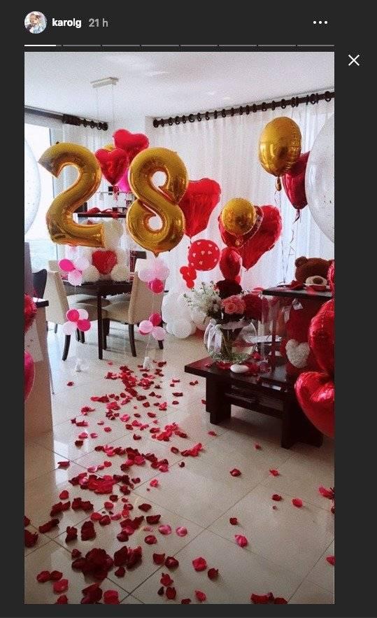 La Espectacular Sorpresa Que Le Dieron A Karol G Por San Valentin Y