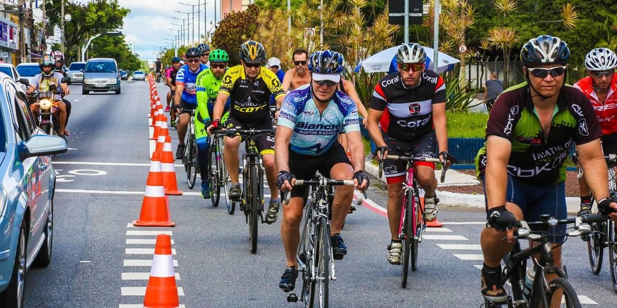Ciclofaixa: trecho entre Cidade Jardim e Villa Lobos-Jaguaré é liberado para ciclistas