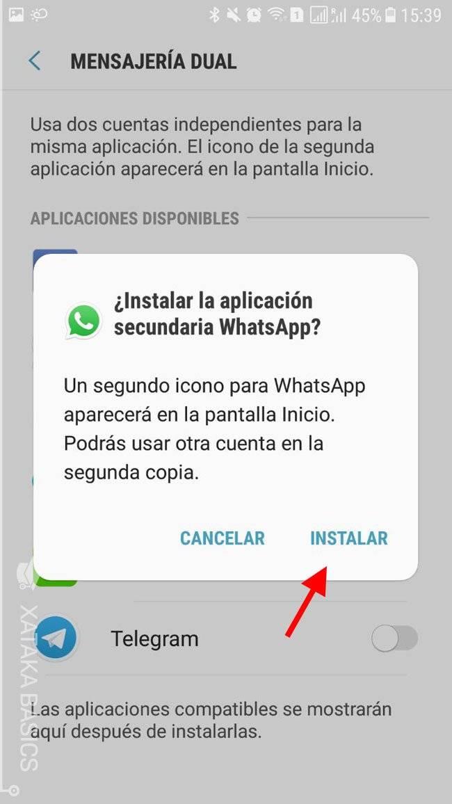 Configurar tu celular para tener dos WhatsApp es posible