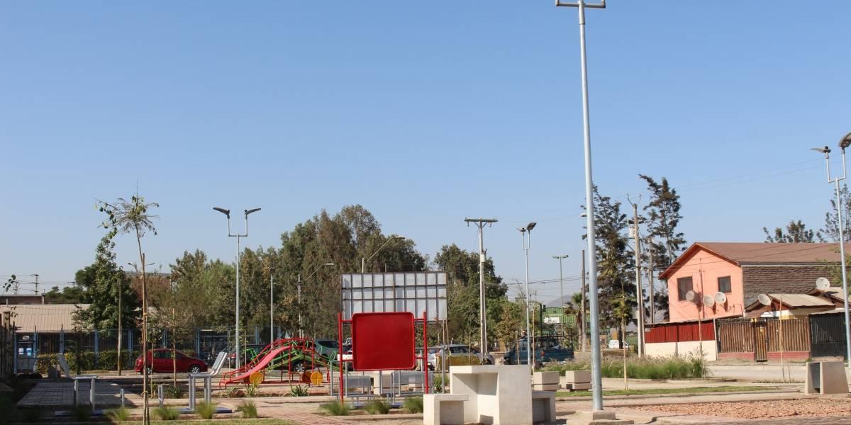 Más áreas verdes: Inauguran Parque Las Turbinas en Lo Espejo