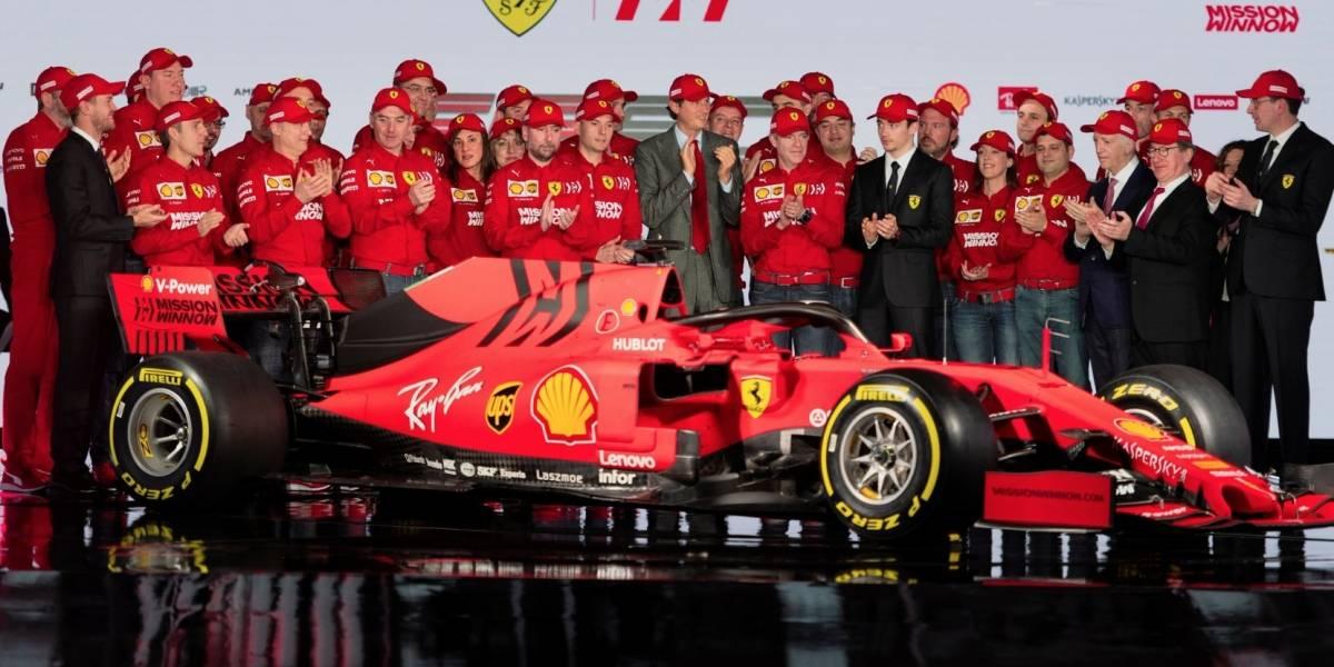 Ferrari presentó su máquina para dar pelea - Deportes