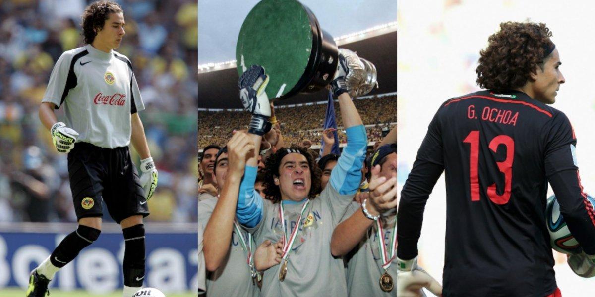 Los 5 momentos que marcaron la carrera de Memo Ochoa