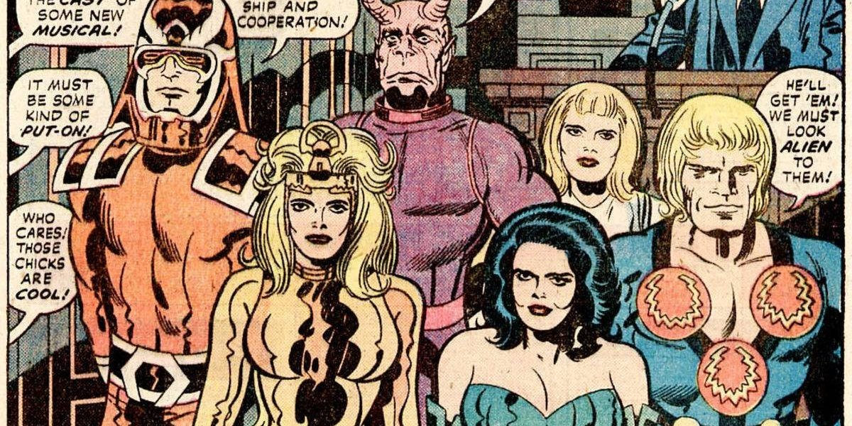 Marvel: ¿'The Eternals remplazaran a 'The Avengers'?