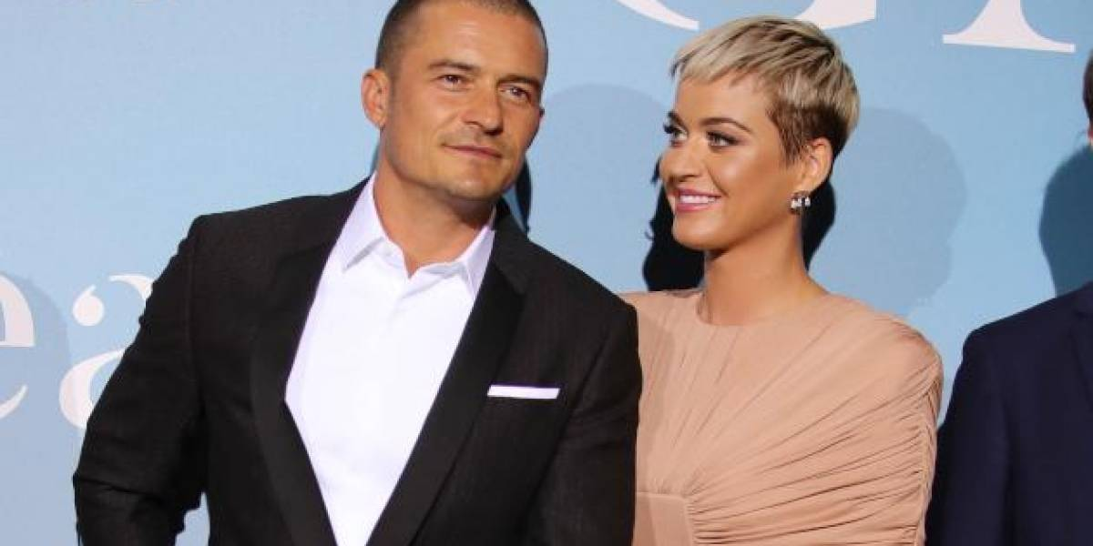 Se comprometen Katy Perry y Orlando Bloom