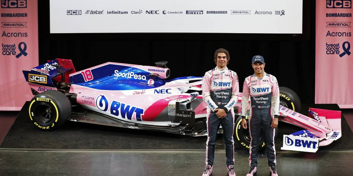 JCB deja Williams pero sigue en la F1 junto a Racing Point