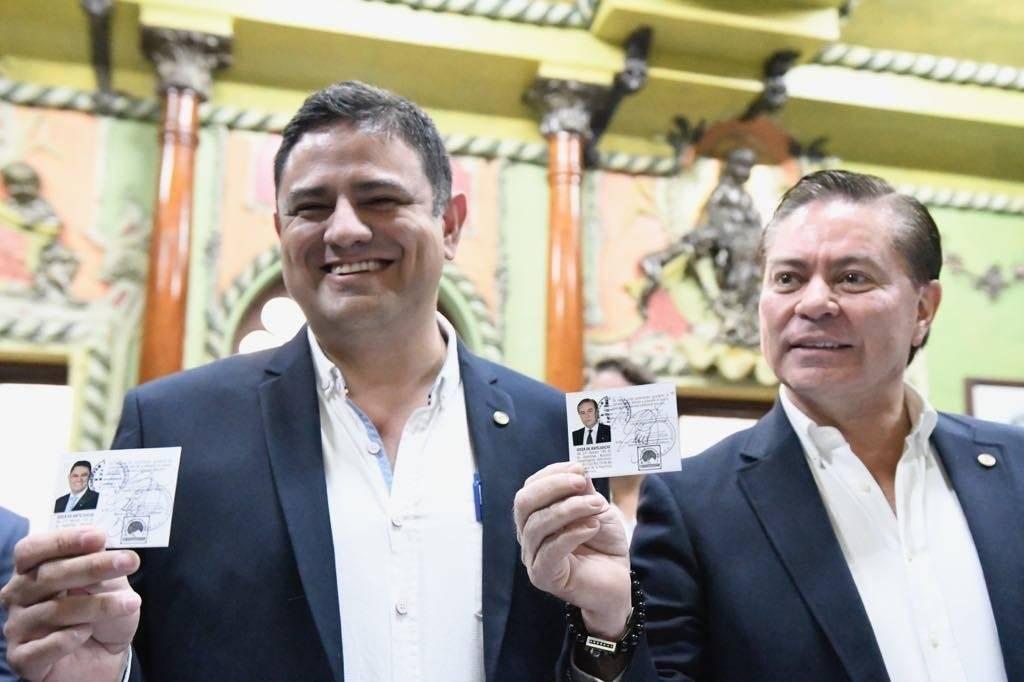 Mario Estrada y Otto Castillo, binomio presidencial de UCN