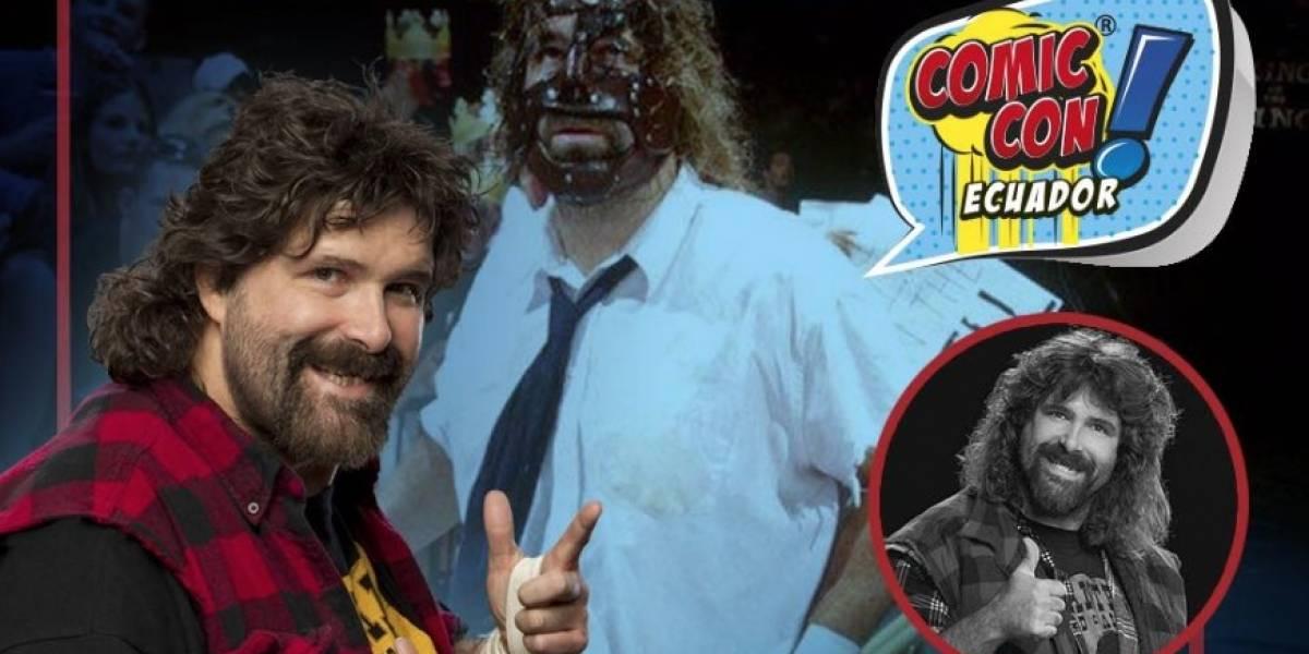 Comic Con Ecuador: Mick Foley confirmado para la convención de agosto en Guayaquil