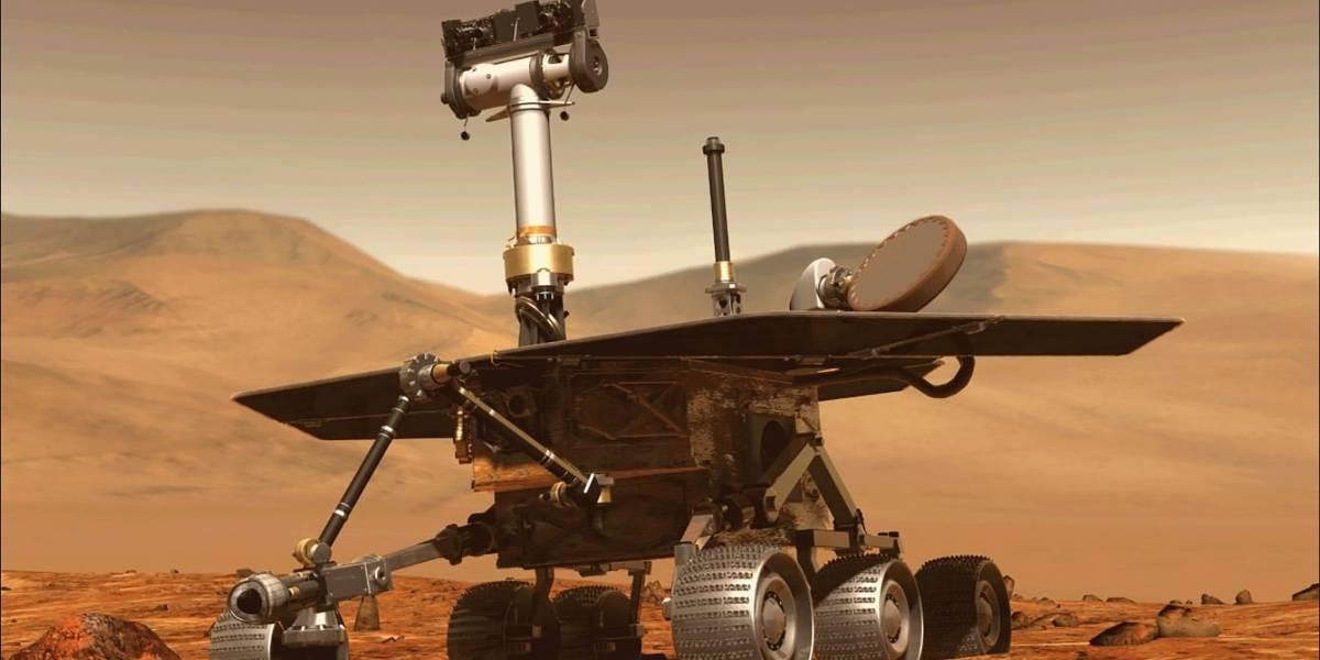 La NASA revela últimas imágenes captadas por el Opportunity antes de perder contacto con la Tierra